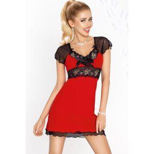 Dámska košieľka Paulina red-black