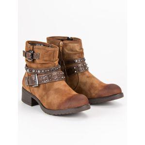 Dámske členkové topánky 48334