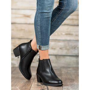 Dámske členkové topánky 58089