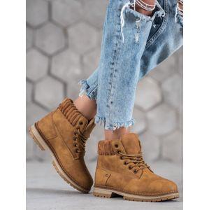 Dámske členkové topánky 58538