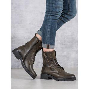 Dámske členkové topánky 59027