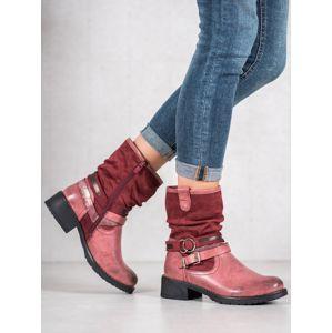 Dámske členkové topánky 59056