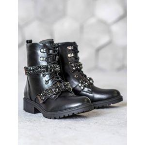 Dámske členkové topánky 59082