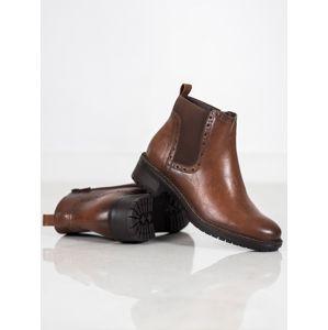 Dámske členkové topánky 59128