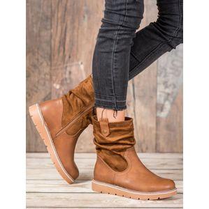 Dámske členkové topánky 59743
