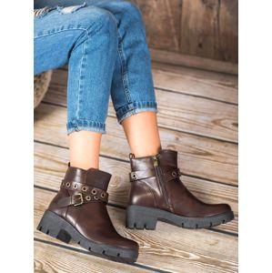 Dámske členkové topánky 59824