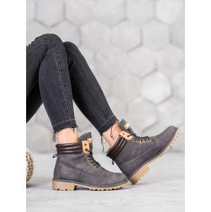 Dámske členkové topánky 59836