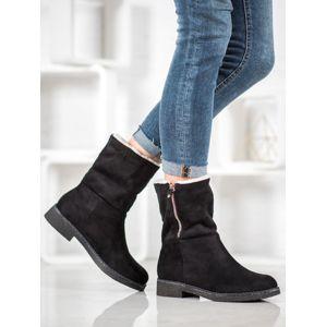 Dámske členkové topánky 60526