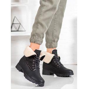 Dámske členkové topánky 60845