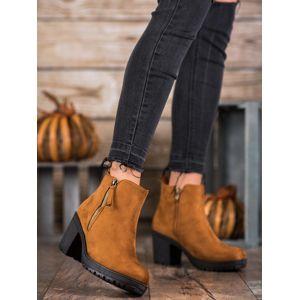 Dámske členkové topánky 61154