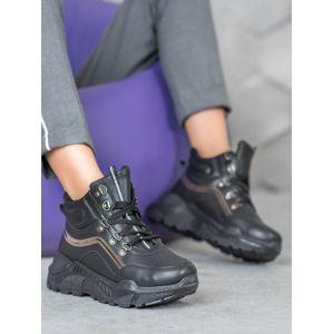 Dámske členkové topánky 61763