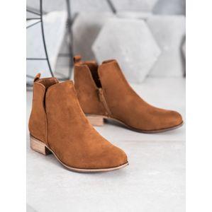 Dámske členkové topánky 65204