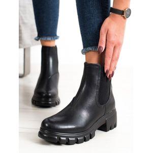 Dámske členkové topánky 67627