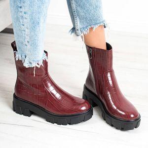 Dámske členkové topánky 67671