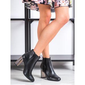 Dámske členkové topánky 67884