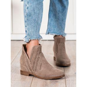 Dámske členkové topánky 69891