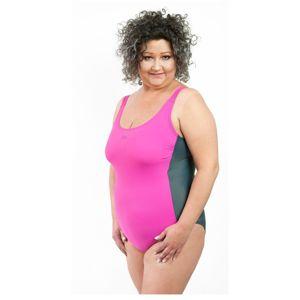 Dámske jednodielne plavky 3301 pink