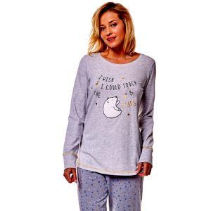 Dámske pyžamo  36160 Mimi  09x graphite