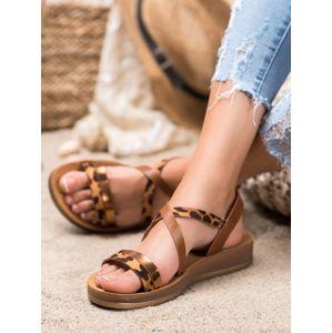 Dámske sandále 66098
