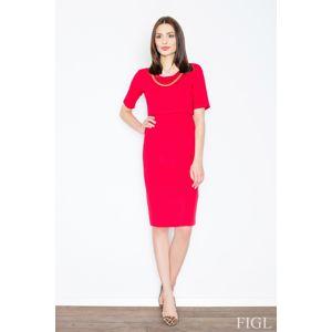 Dámske šaty M446 red