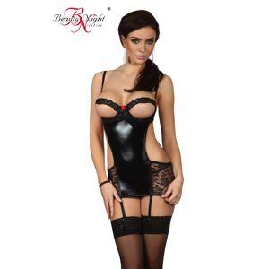 Erotická košieľka   Angelina chemise black