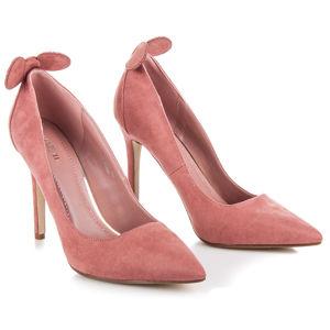 Luxusné ružové lodičky s uškami