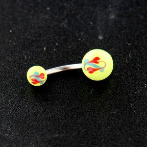 Strieborný piercing 14393