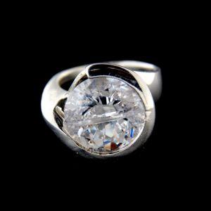Strieborný prsteň 34338
