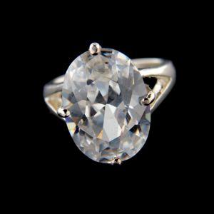 Strieborný prsteň 34341