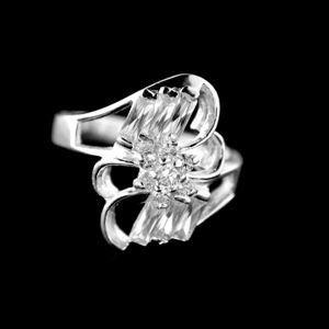 Strieborný prsteň 34345