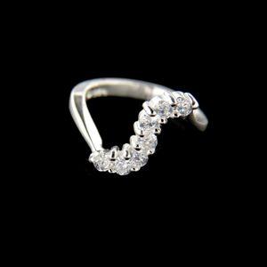 Strieborný prsteň 34654