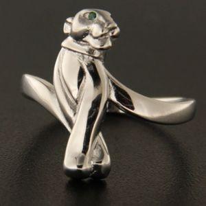 Strieborný prsteň 45428