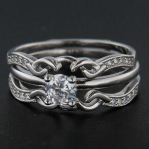 Strieborný prsteň 49581