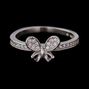 Strieborný prsteň 58397