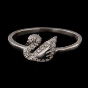 Strieborný prsteň 58398