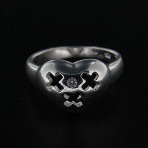 Strieborný prsteň 14264