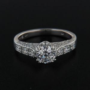 Strieborný prsteň 14266