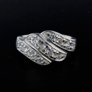 Strieborný prsteň 14300