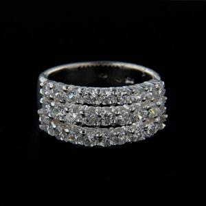 Strieborný prsteň 14326
