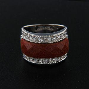 Strieborný prsteň 14328