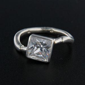 Strieborný prsteň 14355