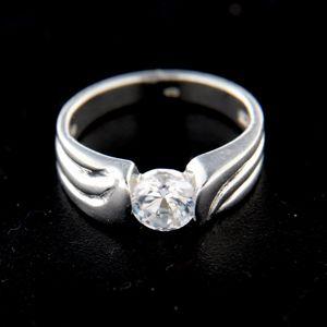 Strieborný prsteň 14812
