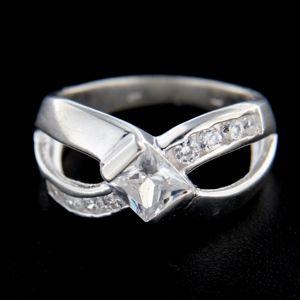 Strieborný prsteň 14824