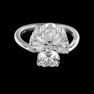 Strieborný prsteň 14943