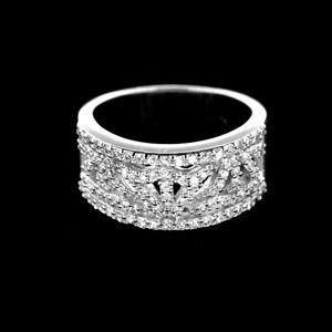 Strieborný prsteň 14975
