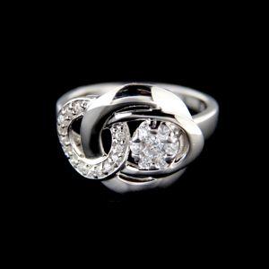 Strieborný prsteň 15242