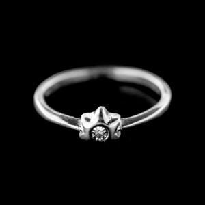 Strieborný prsteň 15401