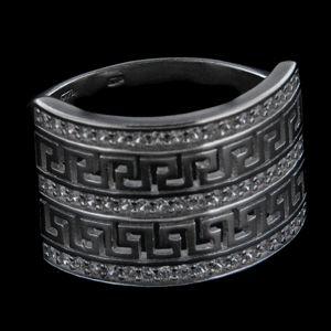 Strieborný prsteň 28888