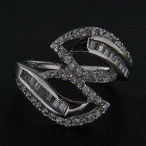 Strieborný prsteň 29141